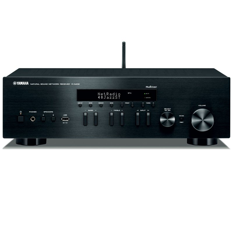 Amply Network Receiver Yamaha R-N402 (B/S)