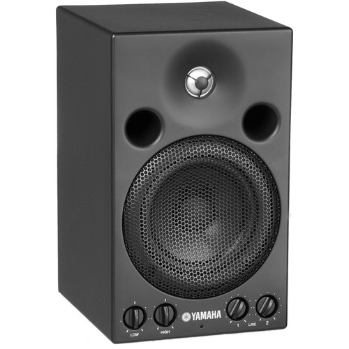 Yamaha MSP3 Amplified Two Way Compact Monitor with 4 Woofer