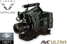 Cinematic VariCam 4K camera
